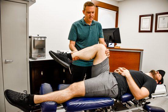 Chiropractic Knee Treatment Sunnyvale